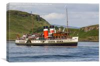 Waverley Out Of Oban, Canvas Print
