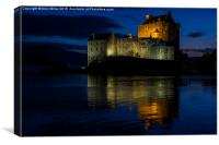 Eilean Donan By Night, Canvas Print