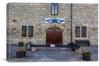 Lossiemouth Fishing Museum, Canvas Print