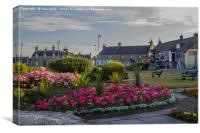 Lossiemouth In Bloom, Canvas Print