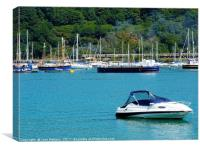 Dartmouth Harbour, Canvas Print