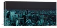 New York in Neon, Canvas Print