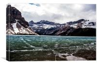 Icefields, Canvas Print