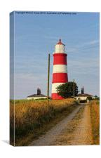 Happisburgh Lighthouse North Norfolk, Canvas Print