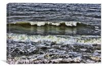 A wave of reflection, Canvas Print