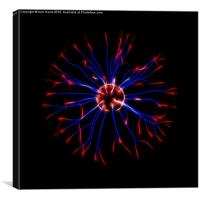 Plasma Ball, Canvas Print