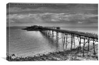 Birnbeck Pier, Weston-super-Mare, Canvas Print