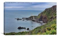 Hartland Point Devon, Canvas Print