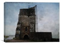 St.Helen Old Church., Canvas Print