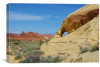 Valley of Fire, Nevada, Canvas Print