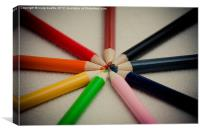Colouring Time, Canvas Print