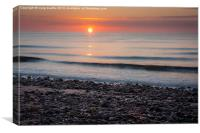 Arbroath Sunrise, Canvas Print