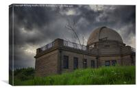 Dundee Observatory, Canvas Print
