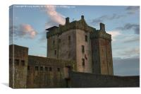 Broughty Castle Dundee, Canvas Print