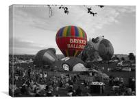 Balloon Fiesta, Canvas Print