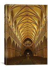Wells Cathedral 2, Canvas Print