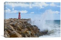 Portugese Lighthouse, Canvas Print