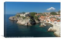 Dubrovnik Outside The Walls, Canvas Print