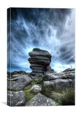 The Cheesering on Bodmin Moor, Canvas Print