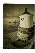 Whitby Round House, Canvas Print