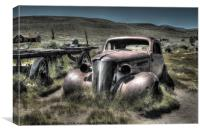 Bodie Ghost Town, Canvas Print