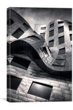 The Lou Ruvo Center for Brain Health, officially t, Canvas Print