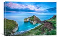 High Stacks Arch, Flamborough Head, Canvas Print