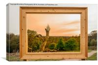 An English Landscape, Canvas Print
