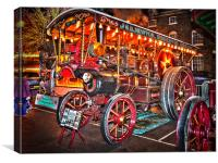 Hungerford Victorian Extravaganza, Canvas Print