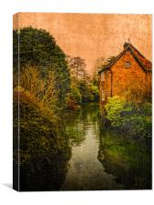 River Kennet, Canvas Print