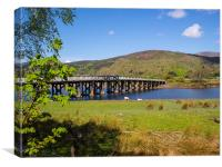Penmaenpool Toll Bridge, Canvas Print