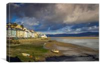 Aberdovey Seafront, Canvas Print