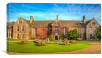 Littlecote House, Canvas Print