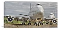 Manston Airport Time to board, Canvas Print