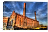 Lots Road Power Station, Canvas Print