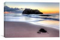 Saint Catherines Island, Tenby, Canvas Print