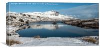The Storr in winter #2, Canvas Print
