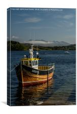 'Serene' one beautiful May afternoon. , Canvas Print
