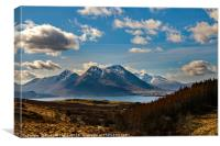 Glamaig on Skye from the Isle of Raasay, Canvas Print