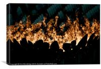 The Olympic Flame, Canvas Print