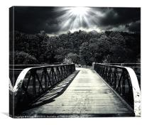bridge of dreams 2, Canvas Print