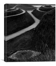 Eye of Northumberlandia, Canvas Print