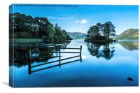 Serene Derwent Water, Canvas Print