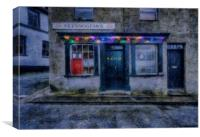 Christmas Post Office , Canvas Print