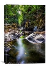 Summer At Fairy Glen , Canvas Print