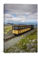 Train To Snowdon , Canvas Print