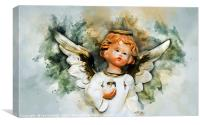 Christmas Angel, Canvas Print