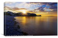Little Orme Sunset, Canvas Print