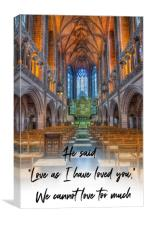 Love As I Have Loved You, Canvas Print