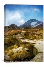 Path To Tryfan, Canvas Print